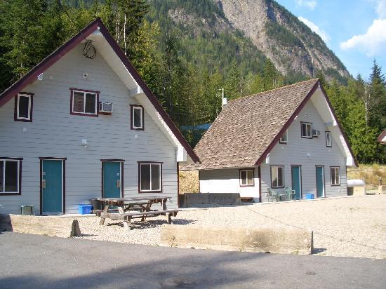 Peaks Lodge: Diese Hütten meine ich