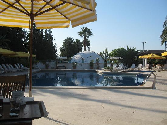 Hotel Karia Princess: poolside