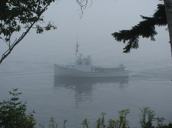 Beloin's on the Maine Coast: Morning Shrimp Boats