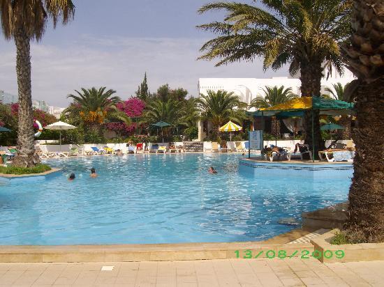 Hammamet Serail: parte della piscina