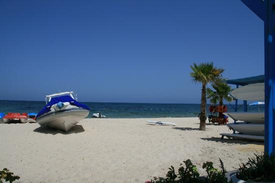 El Mouradi Club Selima: la plage vue du bar