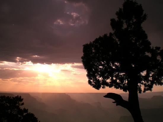 Grand Canyon South Rim: atardecer1
