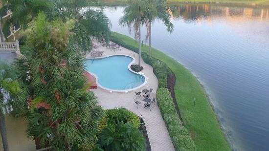 Inn at Pelican Bay: View from Room 522