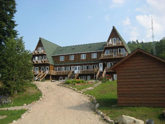 La Tuque, Kanada: Main building at Odanak
