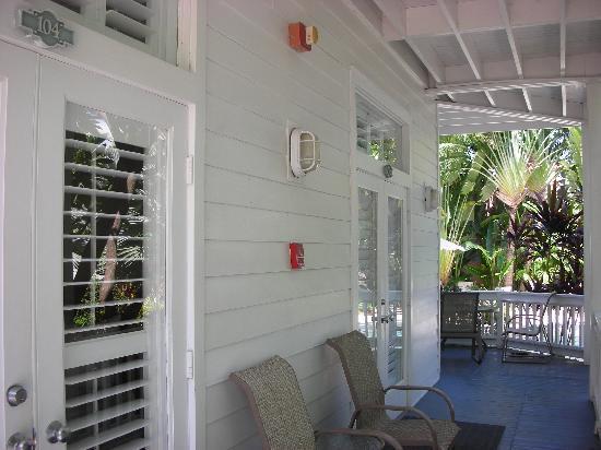 The Paradise Inn: camino de la habitación