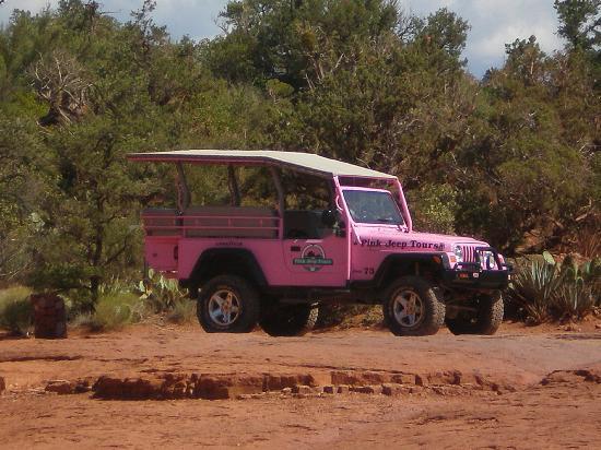 Pink Jeep Tours Sedona: Pink Jeep