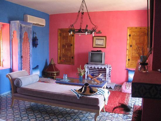 Casa Taos: La chambre Frida Kahlo : il fallait oser et c'est très réussi