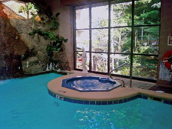 Indoor Hot Tub - Picture of Zoders Inn & Suites, Gatlinburg ...