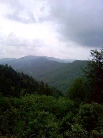 Gatlinburg Falls Resort: View