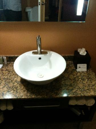 Mariposa Inn and Suites: bathroom sink