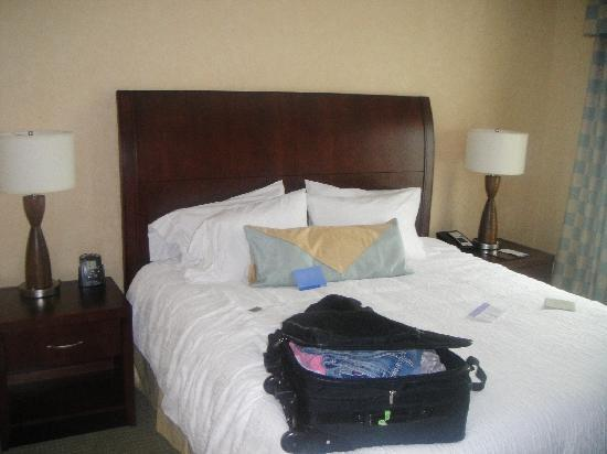 Hilton Garden Inn Mount Holly/Westampton: GREAT Bed!