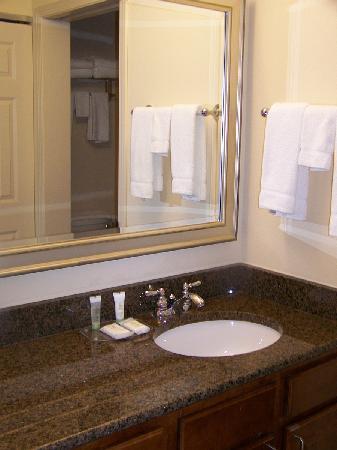 Staybridge Suites Milwaukee West Oconomowoc: Bathroom Vanity