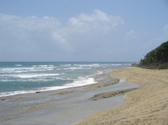 Hideaway Beach Resort: beach right