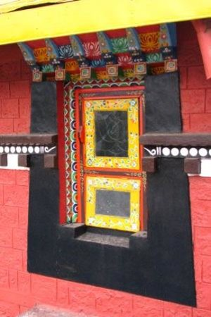 Sikkim, Inde : The rich colours of the Museum of Tibetology