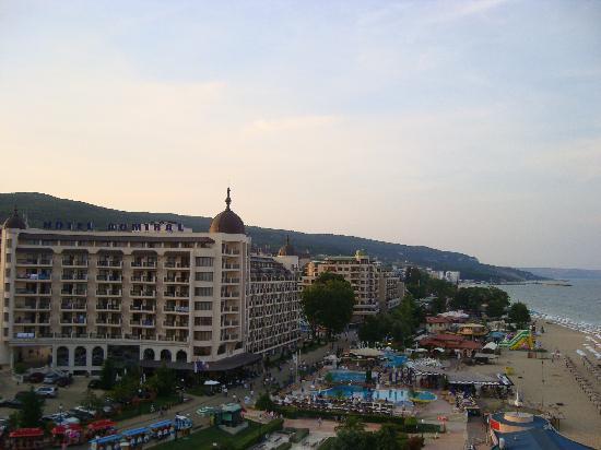 Hotel Admiral: Hotel vom Riesenrad aus