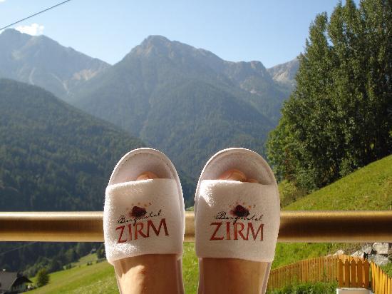 Berghotel Zirm - Dolomitenausblick