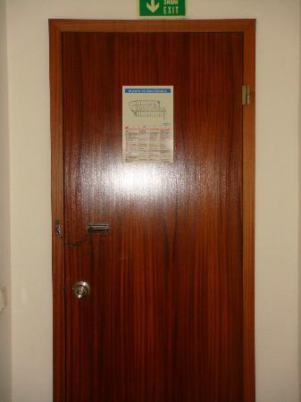 Villa Rio Hotel: la puerta papel de fumar