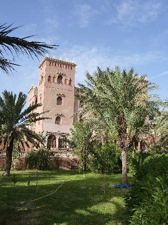 Les Jardins de Ouarzazate: vue de l'hotel