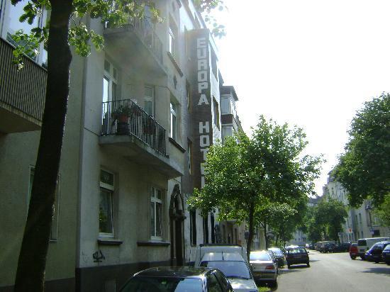 Hotel Europa: Outside