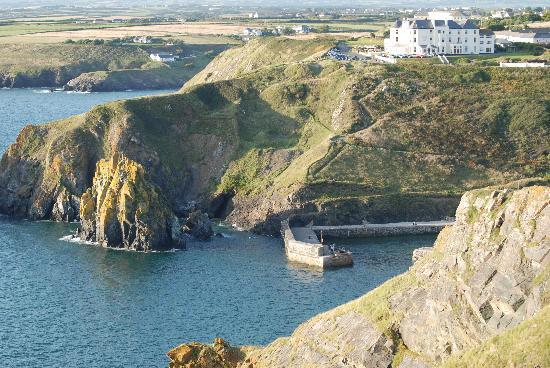 Mullion Cove Hotel: traumhafte Lage