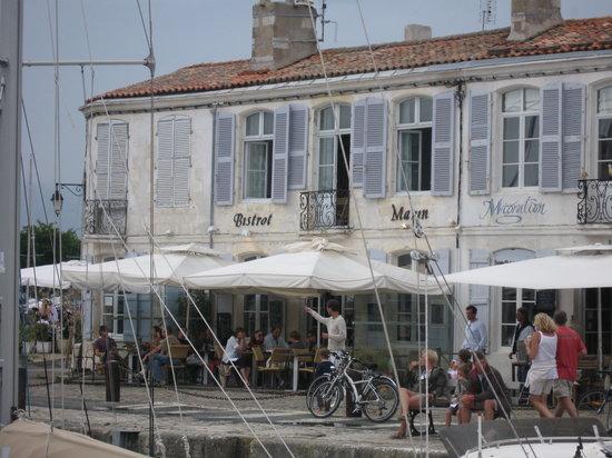 Saint-Martin-de-Ré, Francia: bistrot marin