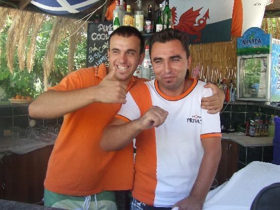 Private Hotel: Bar staff!