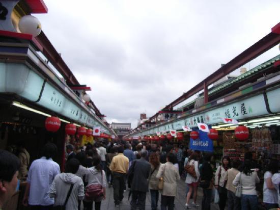 Senso-ji Temple: 仲見世通り