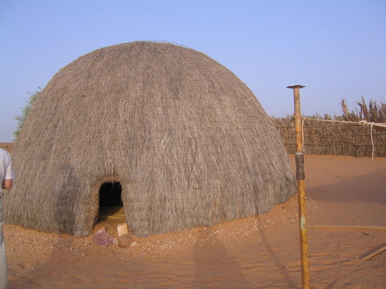 Mauritania: à azoughi, nuit sous tente
