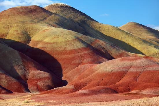 Mitchell, OR: Painted Hills