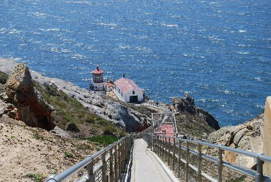Point Reyes Lighthouse : 308 steps to the lighthouse