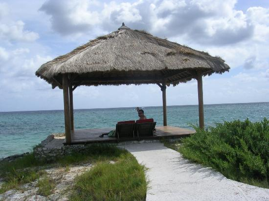 Sandals Royal Bahamian Spa Resort & Offshore Island: hut on the island