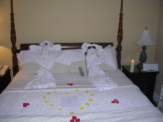 Sandals Royal Bahamian Spa Resort & Offshore Island: turn down service by the butlers was always great