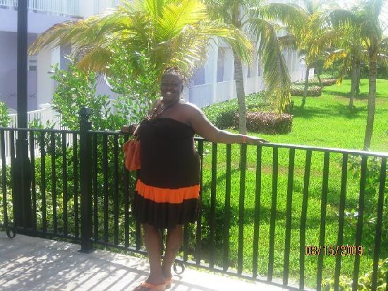 Hotel Riu Montego Bay: Picture of the gardens