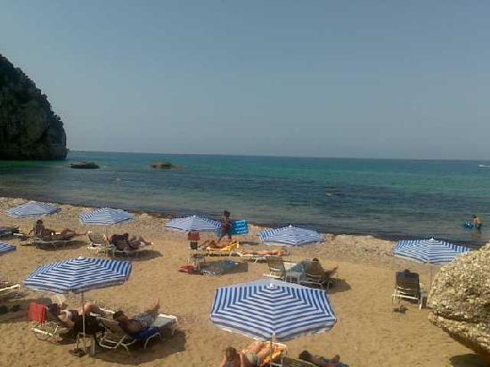 Mayor La Grotta Verde Grand Resort: view from the beach bar