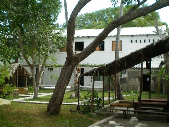 Ibo, Mozambique: Courtyard