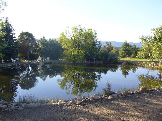 Sundance Bear Lodge: Beautiful Lake on Property