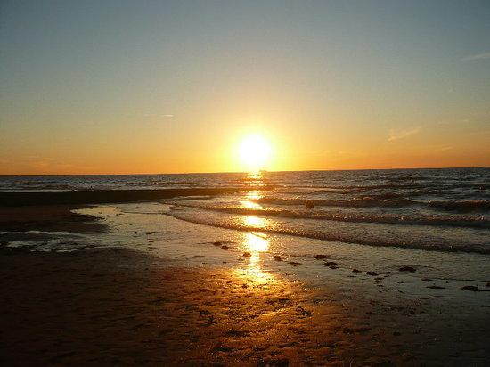 Cabourg, Frankrike: coucher de soleil 2