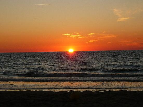 Cabourg, Frankrike: coucher de soleil 3