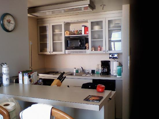 Four Sails Resort: Very nice kitchen.