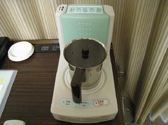 Tokyu Stay Gotanda: electric humidifier and pot