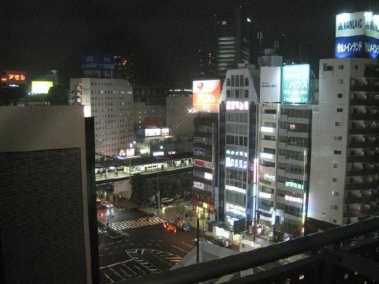 Tokyu Stay Gotanda: at the balcony