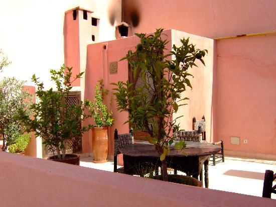 Riad Assala: Roof terrace