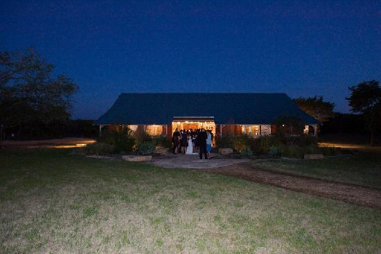 The Red Corral Ranch: the barn where we had the reception