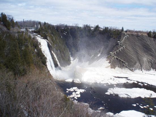 Québec (ville), Canada : Montmorency Falls, Quebec