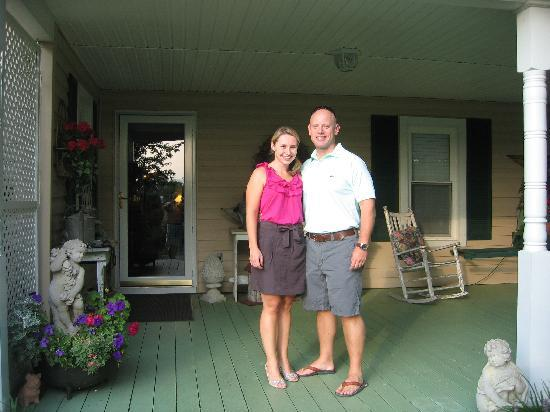 Piney Hill Bed & Breakfast: the porch at Piney Hill