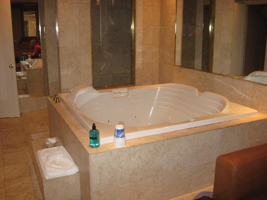 Le Fabreville Motel et Suites : Énorme bain