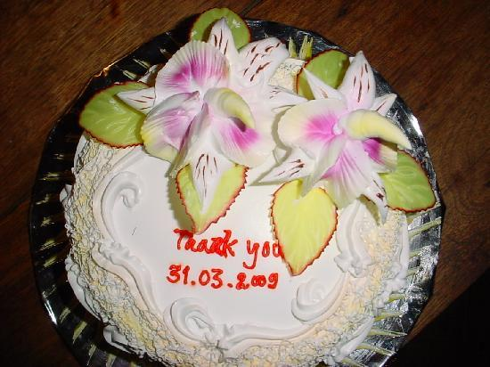"Cloud9 Bungalows: Our present to the staff to say ""Thank you"" for a wonderfull time in paradise"