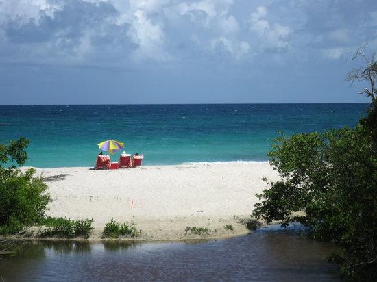 Isla de Vieques, Puerto Rico: Lagoon behind Playa Chiva