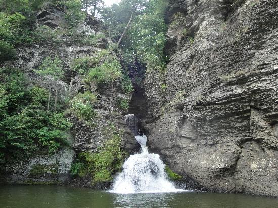 The Roxbury, Contemporary Catskill Lodging: Minekill Waterfall