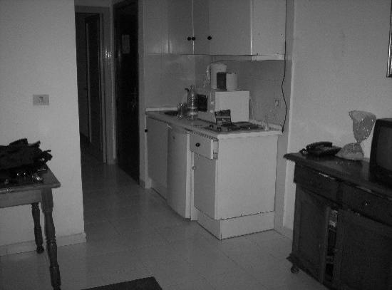 Aparthotel Oasis Tropical: cocina